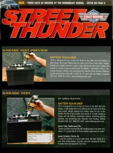 Street Thunder – Product Review